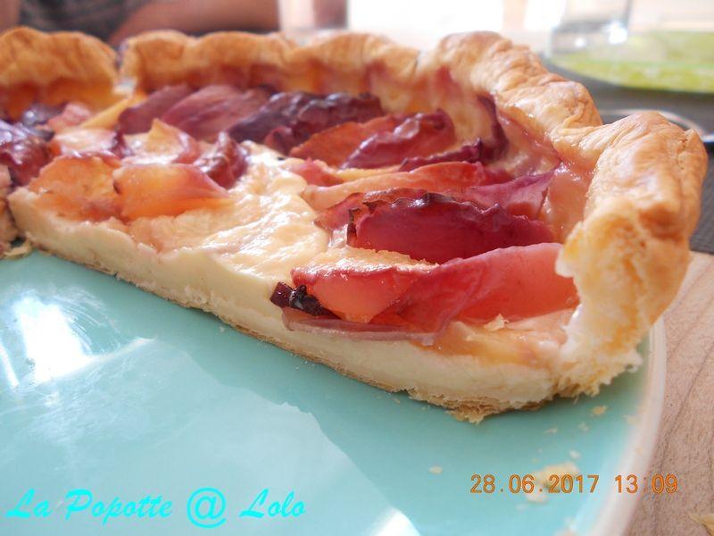 Tarte Pâtissière aux nectarines