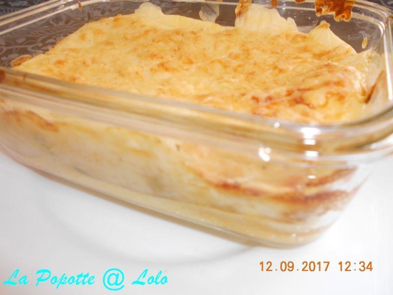 Lasagnes aux fruits de mer au thermomix