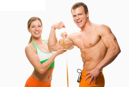 Make your muscles look bigger