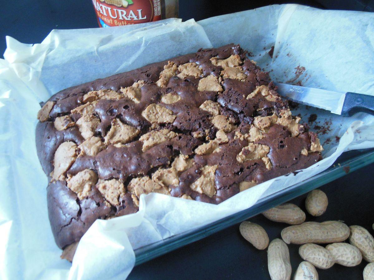 Brownie au beurre de cacahuète