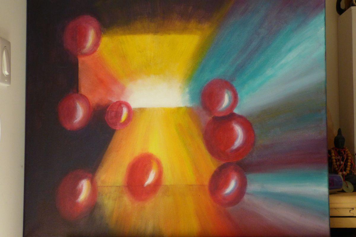 peinture  acrylique   50x70