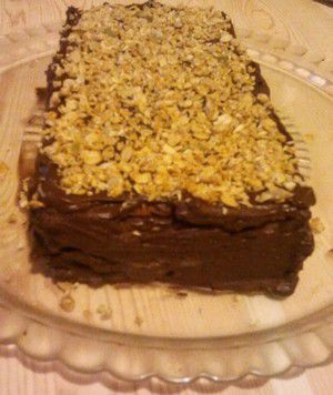 Millefeuille petits lus chocolat