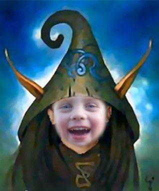déguisement photomontage Elfe