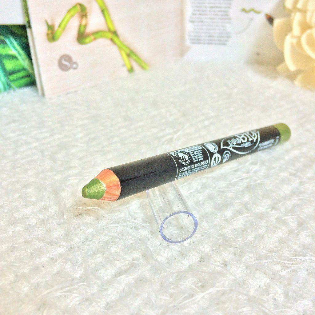 PuroBIO Cosmetics - Crayon à paupières n°13 Vert Feuille