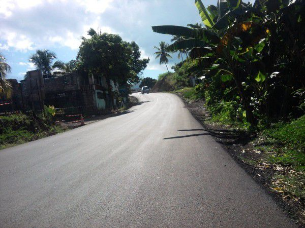 Route vers Ouani à Anjouan Comores