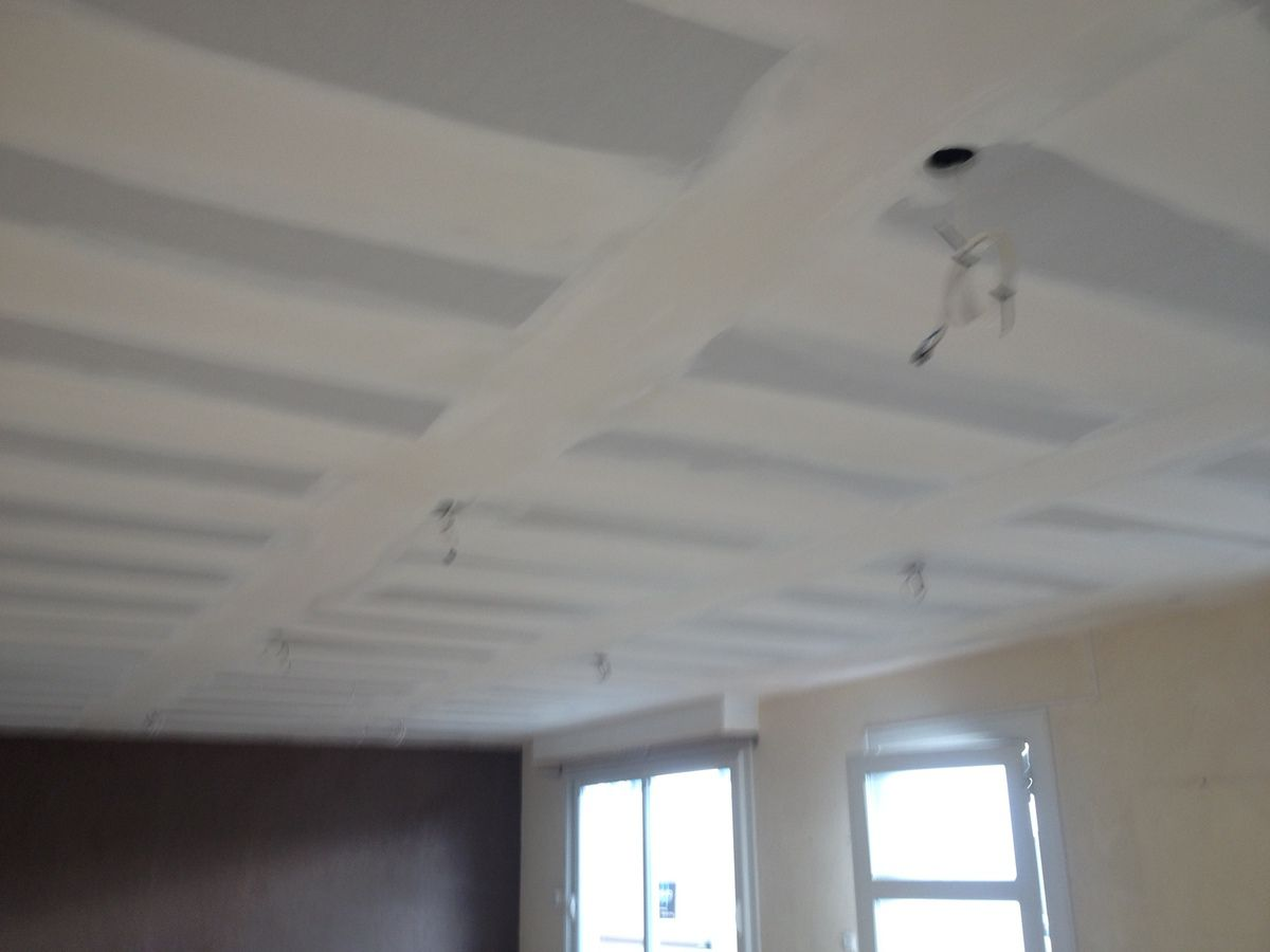 Plafond ba13 sur ossature primaire bearnplaco64 for Plafond placoplatre ba13