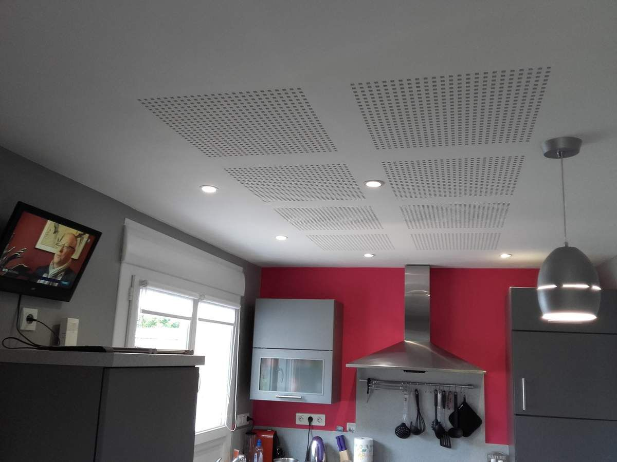 Plafond ba 13 d cor acoustique bearnplaco64 for Ba13 plafond cuisine
