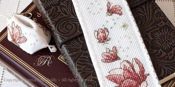 Marque-Page Magnolia ~ Magnolia Bookmark