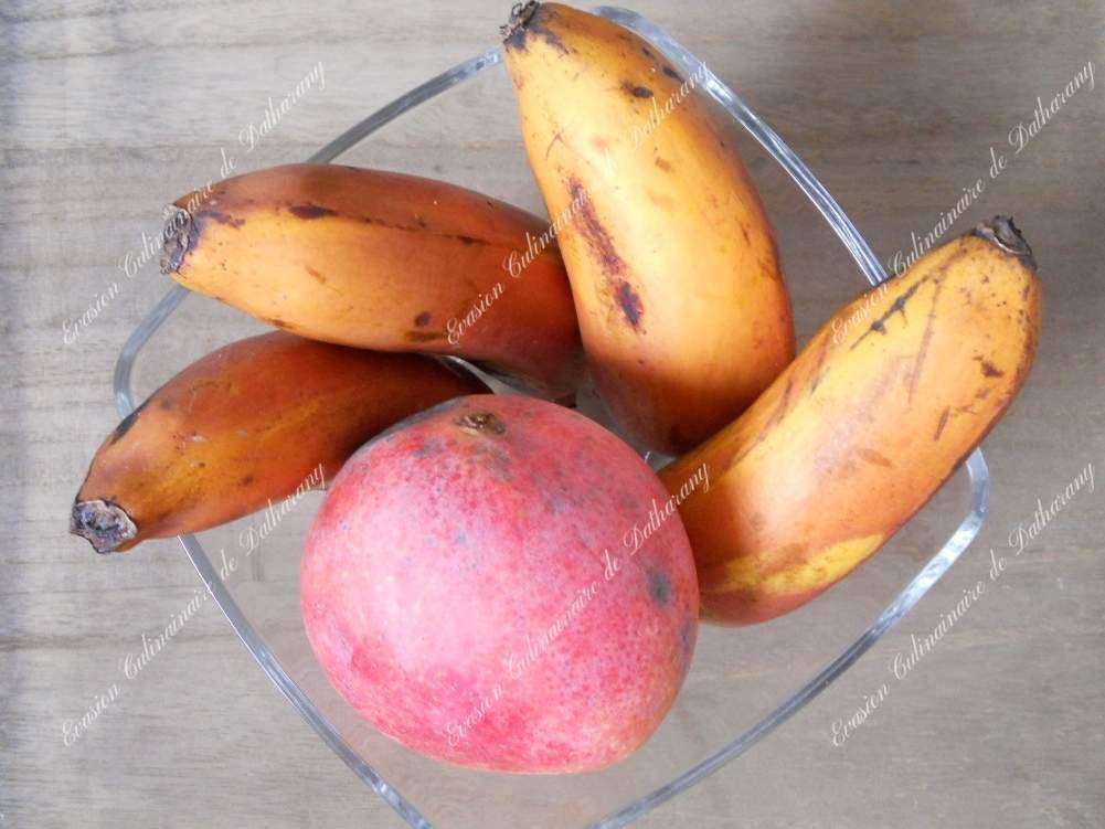"Bananes ""merveilleuses"" & Mangue ""Heidi"""