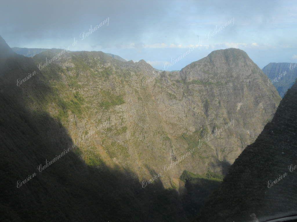 La Réunion, vue du ciel