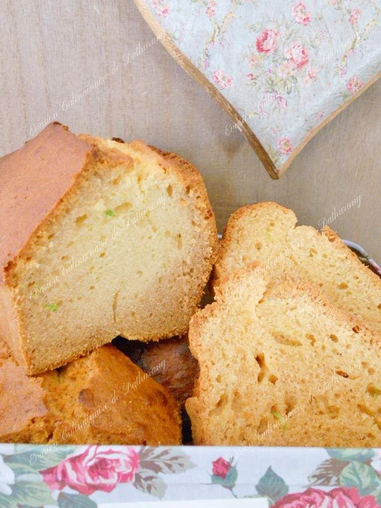 Cake au Miel &amp&#x3B; Zeste de Citron Vert