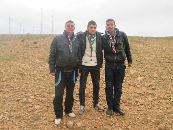 Aïn-Dzarit, Scout du village, الكشافة الجزائرية، فوج العربي بن مهيدي، عين دزاريت ولاية تيارت