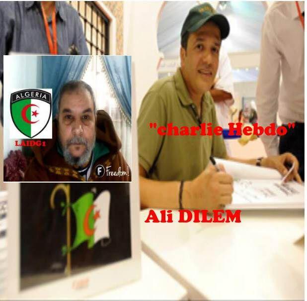 Ali DILEM rejoint &quot&#x3B;charlie Hebdo&quot&#x3B;,( علي ديلام، الصحفي الجزائري يلتحق بالصحيفة المسيئة للرصول (ص