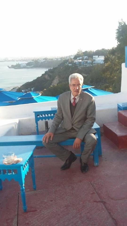 Le Professeur Kaouel MEGUENNI et sa Princesse en Tunisie.