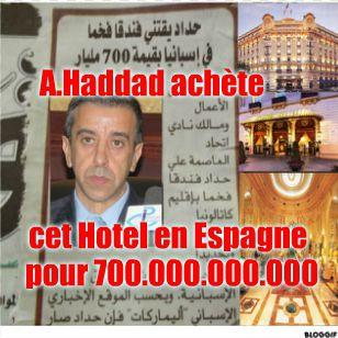 Ali HADDAD, ce virus sorti de nulle part, déclare:انتهى زمن التكسال والسوسيال.. وعلى الجزائريين تقبل رفع تسعيرة الكهرباء والغاز