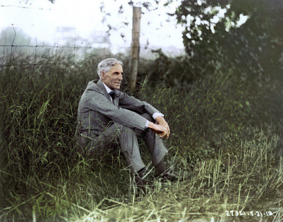 Henry Ford, 1919.