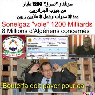 8 Millions d'Algériens &quot&#x3B;volé&quot&#x3B; par SONELGAZ pendant 11 ans!