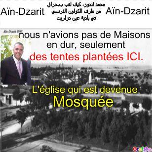 Aïn-Dzarit, Mohamed GUENDOUZ, dit Harrag,كيف لقب ب.حراق من الكولون الفرنسي