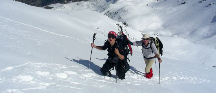 Les auteurs en action au Mont du Vallon