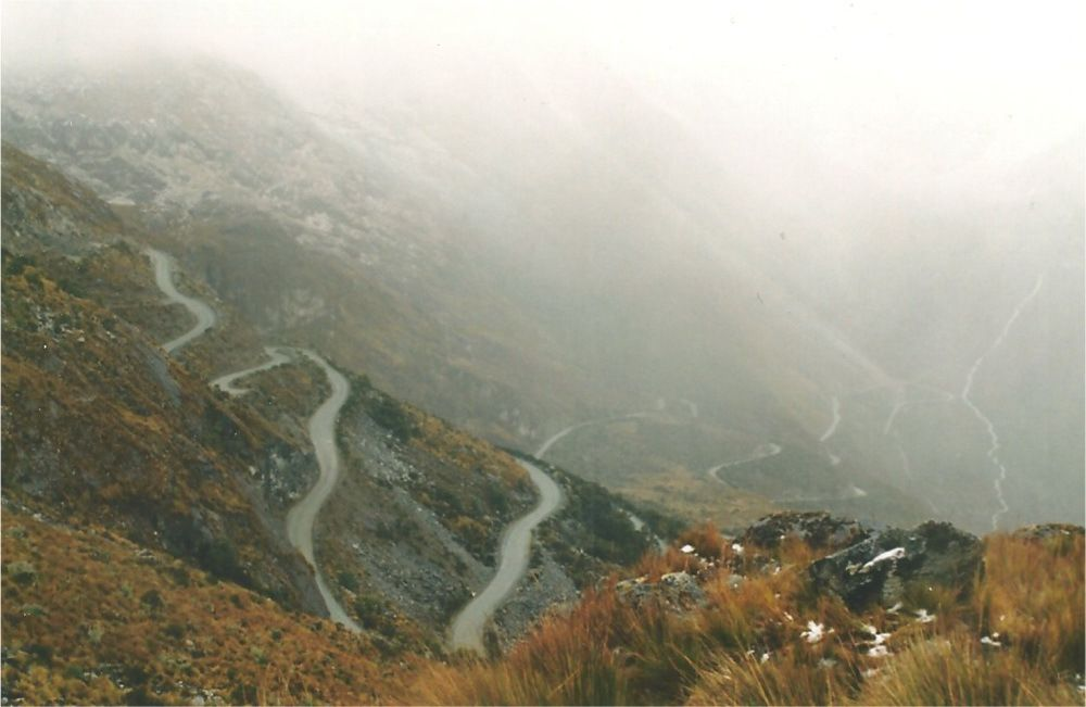 """Le descente """"sueurs froides"""" dans la vallée...."""