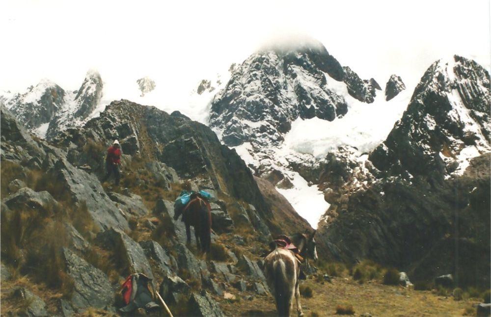 Le col de Alto de Pucaraju à 4650m
