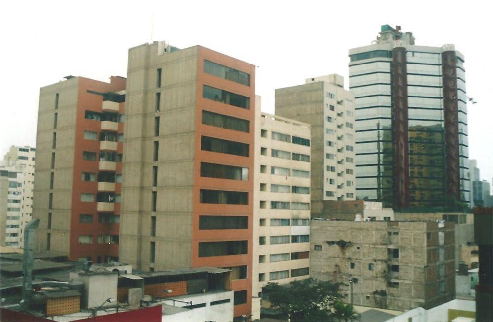 Le centre ville riche de Lima