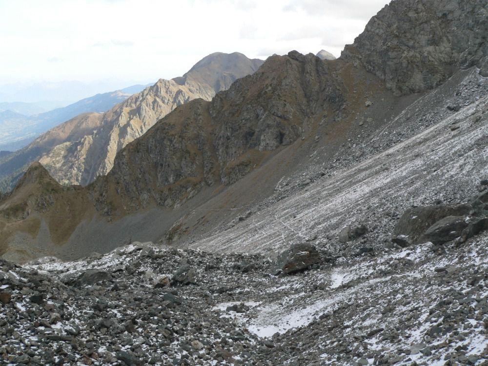 """La traversée du""""glacier de la Sitre"""""""