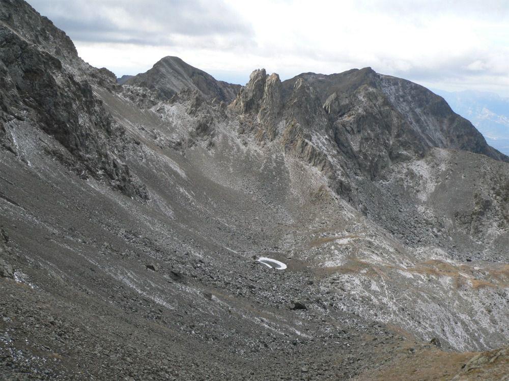 Vue sur le lac du Loup 2258