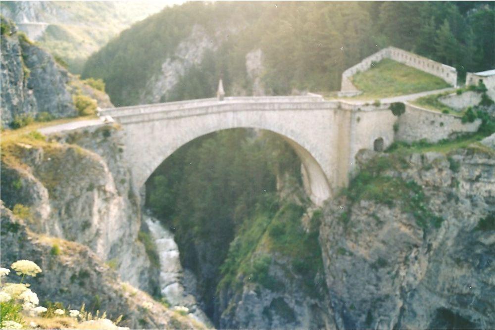 Le pont d'Asfeld à Briançon