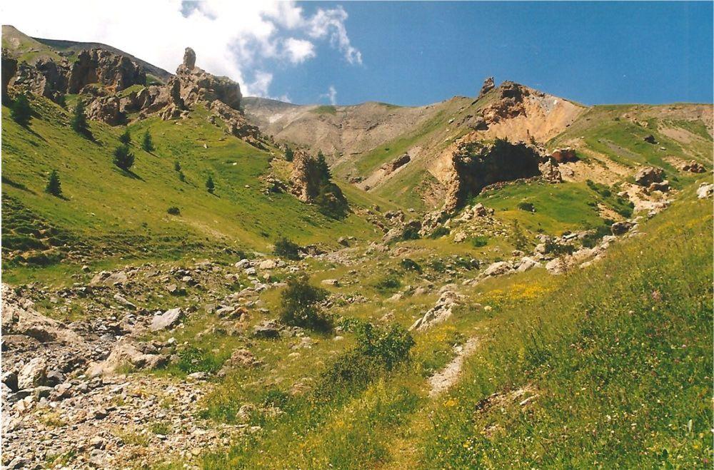 Le site ruiniforme de Vignols