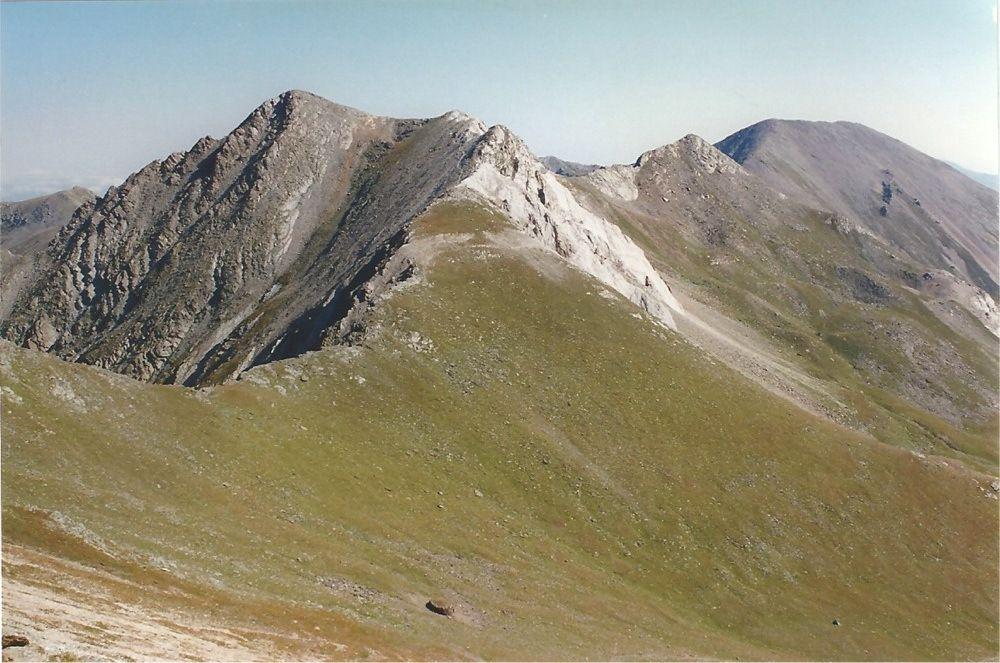 Crête entre Col Tirapits et Pic de la Vaca