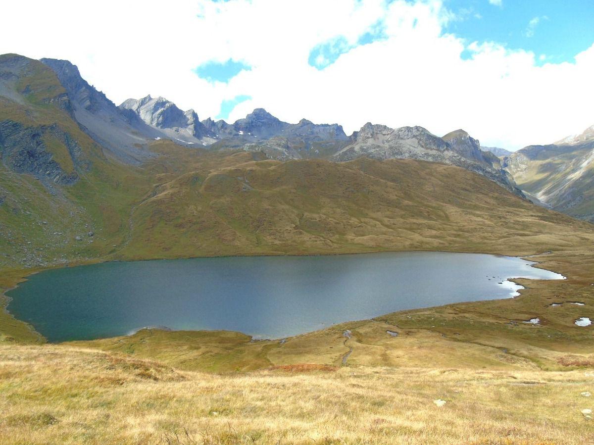 Le lac Verney en Italie