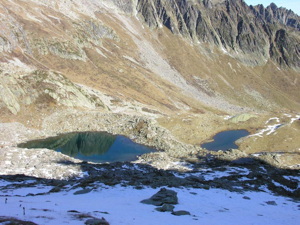 Vue sur les lacs du Bacheux