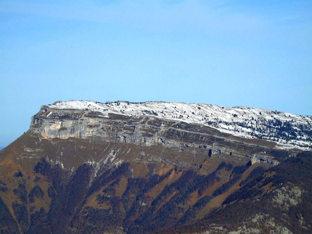 Zoom sur le Mont Margeriaz