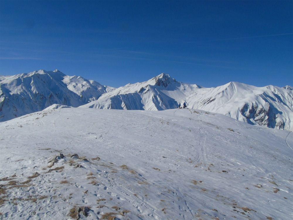Vue sur Grand Coin- Mont du Fût