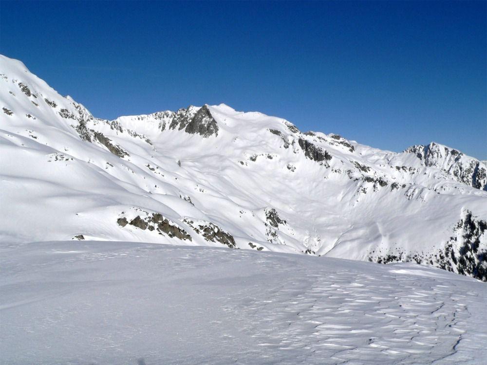 Vue sur le Mont Bellachat