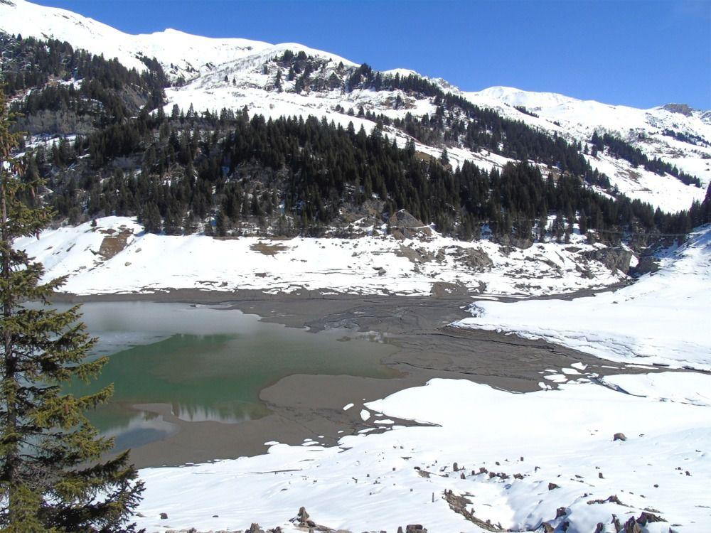 Le lac bien bas