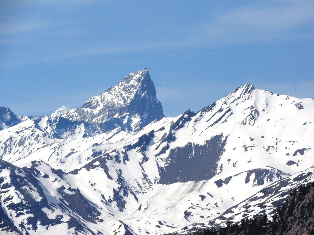 Zooms sur les Aiguilles d'Arve-La Meije et la Barre des Ecrins