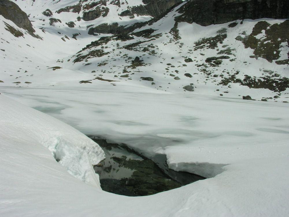 Le dégel du lac