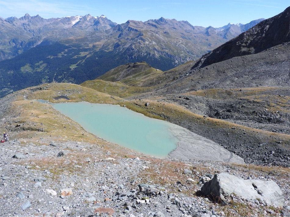 Le 1er lac de Riondaz (2541)