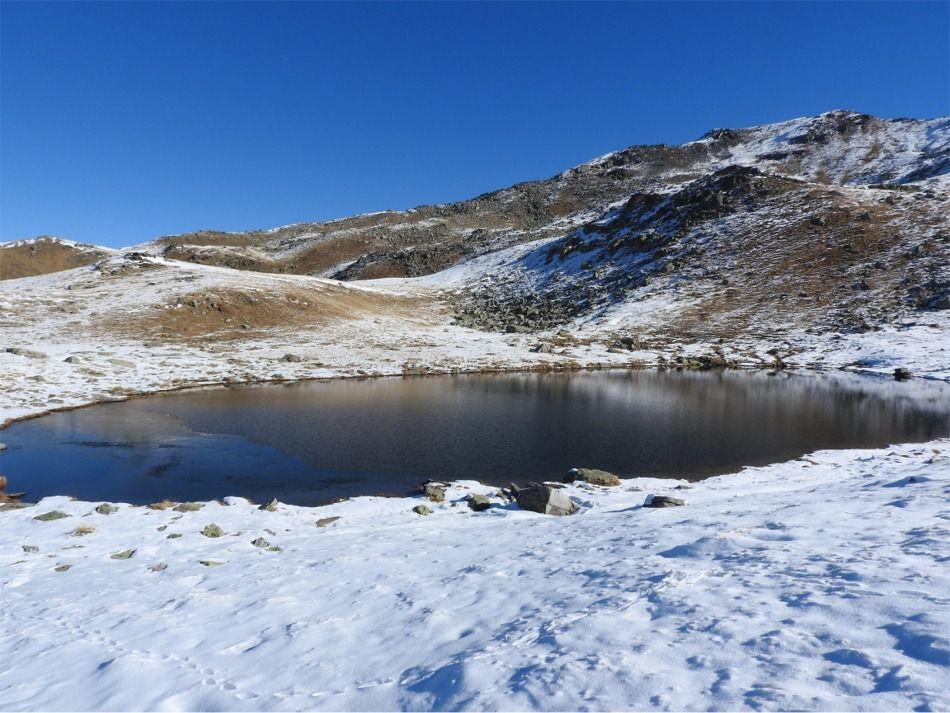 Arrivée au lac de la Montagnette