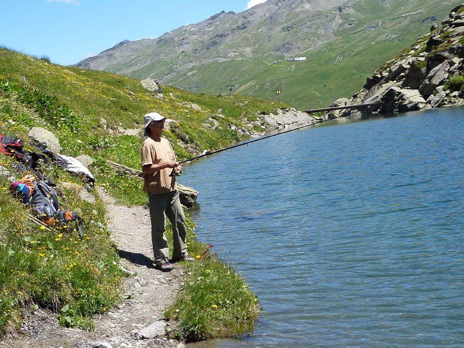En pêche...