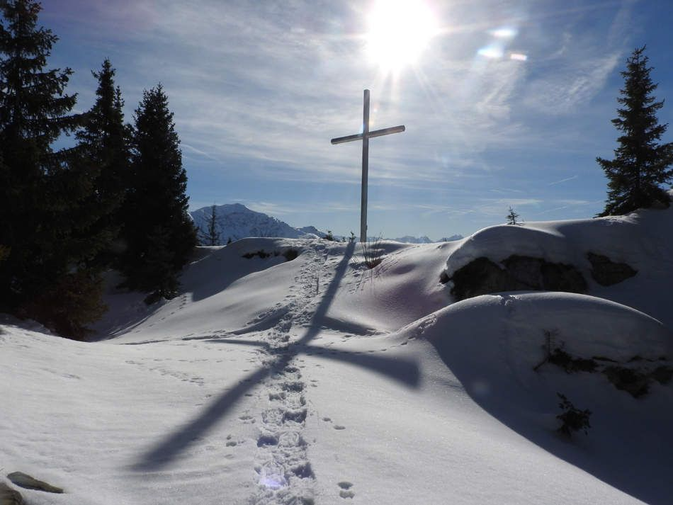 La croix en vue