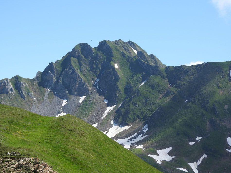 Vues sur le Crêt du Rey, le Mont Blanc