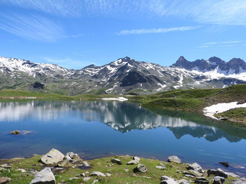 Le lac Curtalés