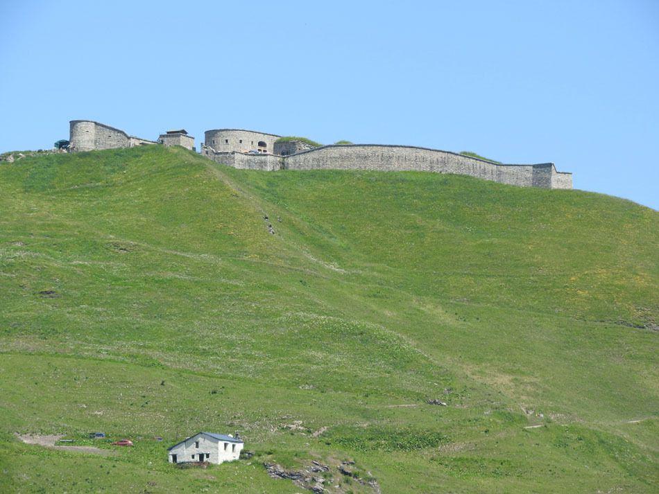 Au retour zoom sur le fort de la Platte