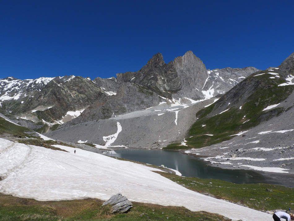 Le lac Long sous la Grande Casse