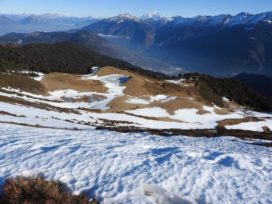 Vues sur le Mont Blanc