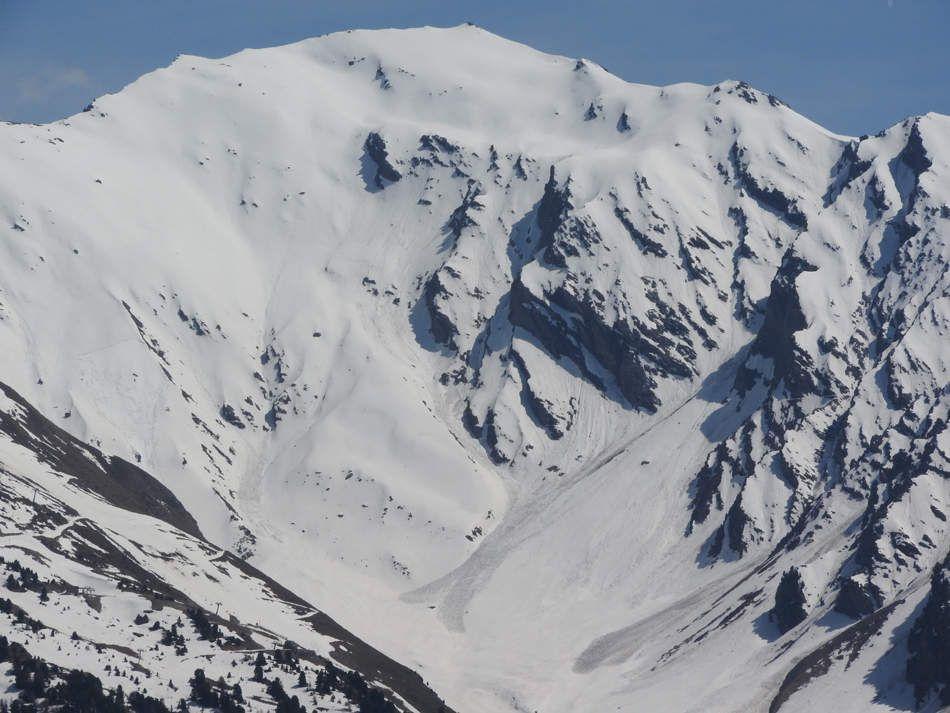 Quelques zooms: Aiguille de Scolette-Aiguilles d'Arves- Cime du Grand Vallon