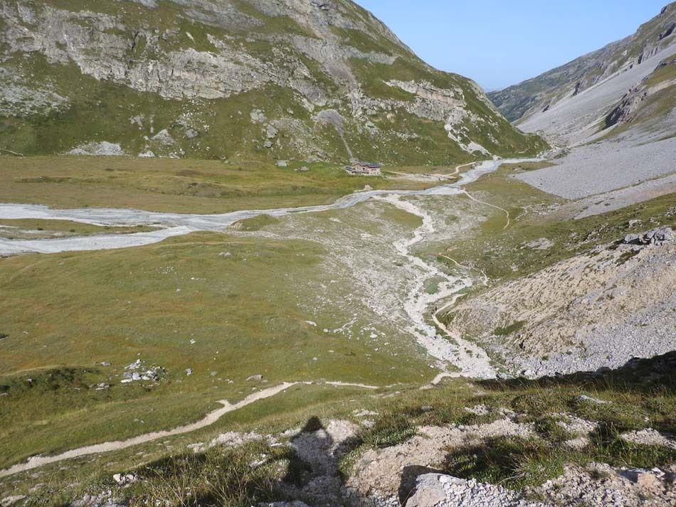 Le confluent doron des Allues/ruisseau de Chanrouge